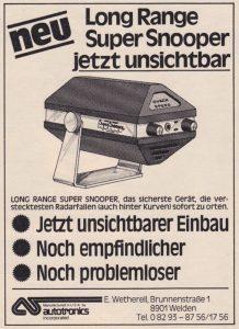 1979 Autotronics