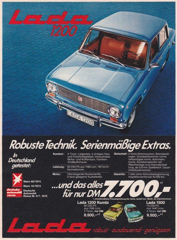 1976 Lada 1200