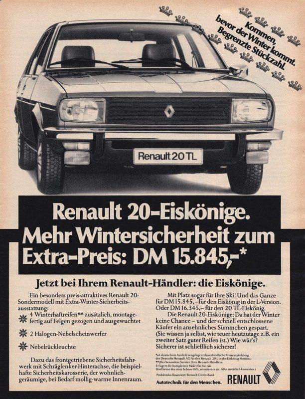 1976 Renault 20 TL