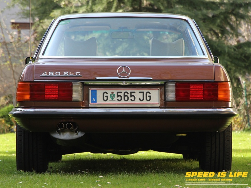 Mercedes-Benz 450 SLC (C107)